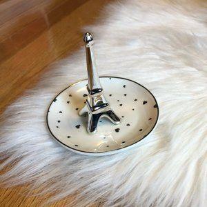 Eiffel Tower Ring Holder Jewelry Dish
